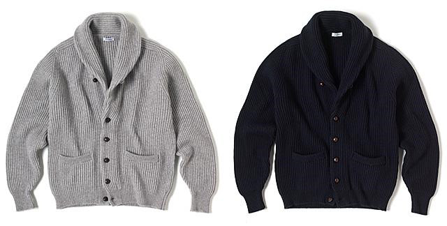 Steve McQeen Inspired Cardigans from Drake's of London