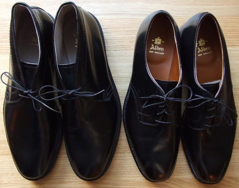 Alden - Black Shoes