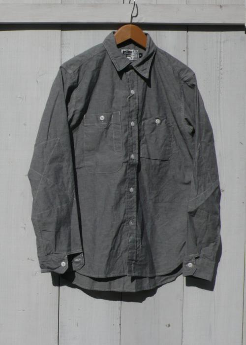 Engineered Garments Grey Chambray Workshirt