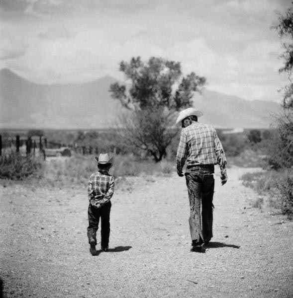 Rancher and Son