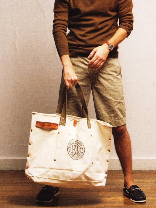 Superior Labor Tote Bag of the Man J.Crew