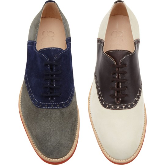 Barney's CO-OP Saddle Shoes