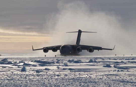 C17 Globemaster Antarctica