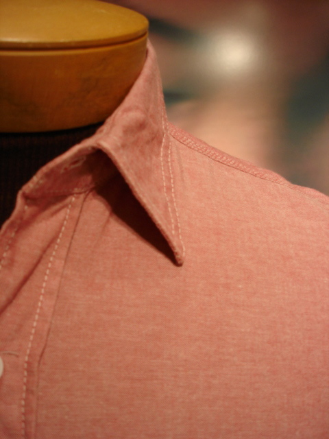 Engineered Garments Red Chambray Workshirt