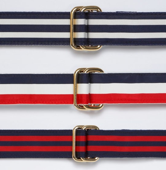 J.Press Ribbon Belts