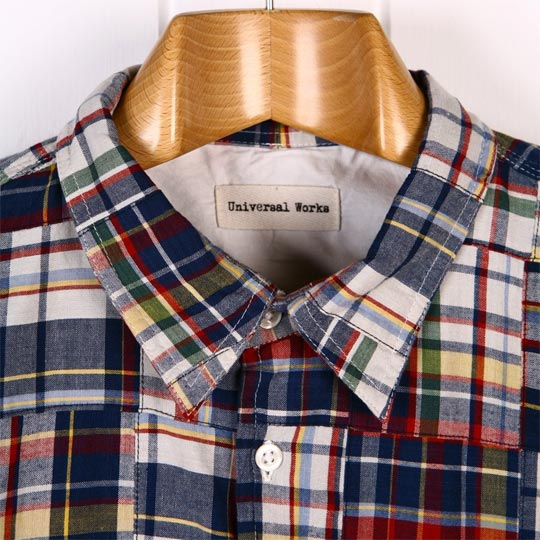 Universal Works Madras Patchwork Shirt