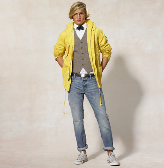Ralph Lauren Rugby Yellow Parka