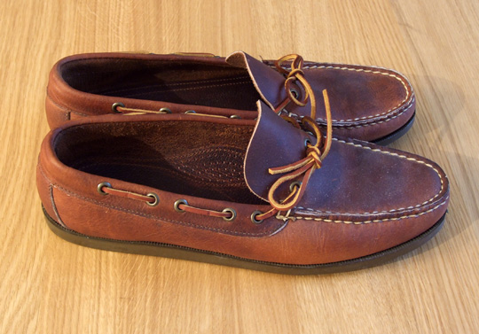 Ralph Lauren Canoe Moccasins Side View