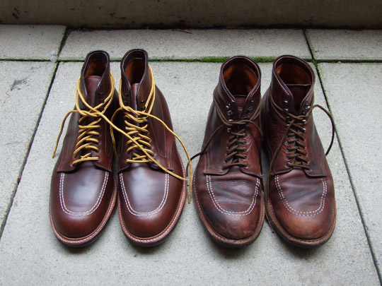 Alden Ultimate Indy Boots New And At Two Years Mister Crew