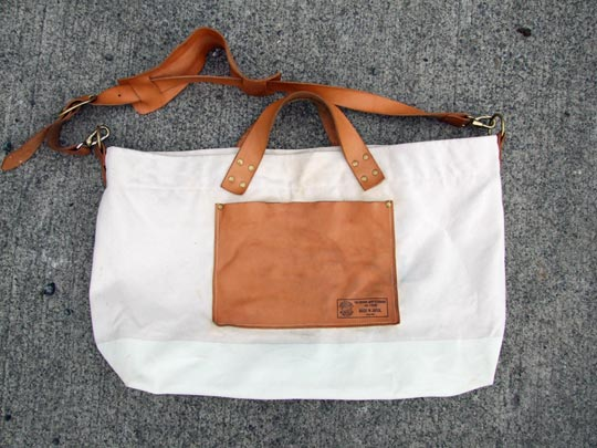 Super Labor 2way Engineer Tote - Front