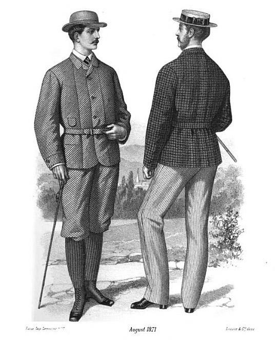 Victorian Era Style 1872 Mister Crew
