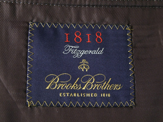 Brooks Brothers Fitzgerald Tweed Sport Coat
