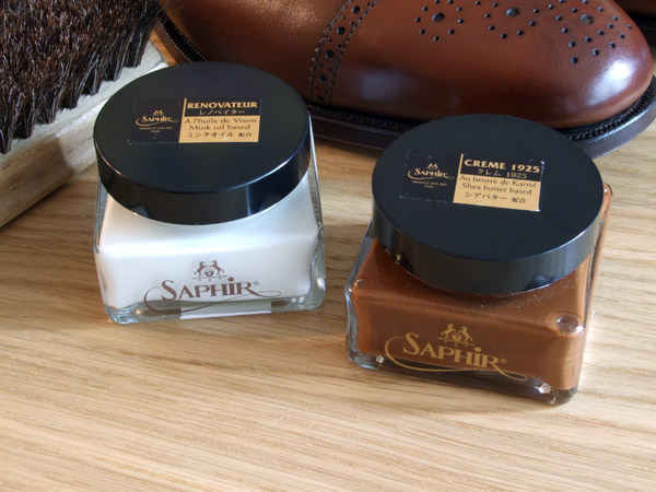 Saphir Renovateur and Creme