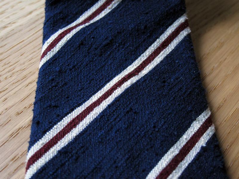 shantung silk ties