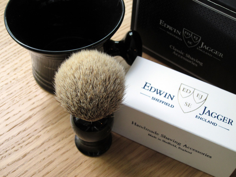 Shaving With Edwin Jagger Mister Crew