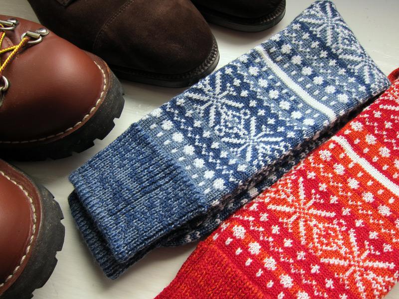 corgi_fair_isle_socks_1