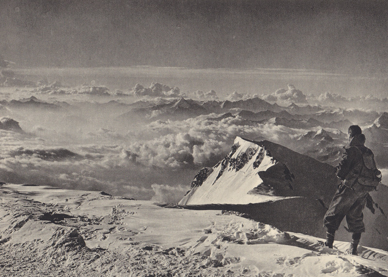 The Summit of Mont Blanc