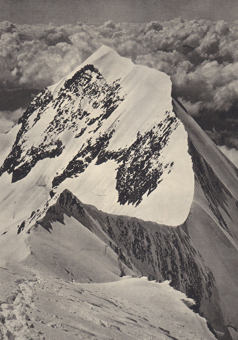 The Aiguille de Bionnassay from the East
